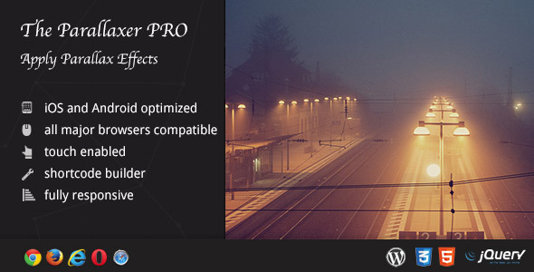 The Parallaxer WP - Parallax Effects on Content Download