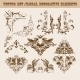 Set of Floral Decorative Elements - GraphicRiver Item for Sale