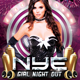 NYE Girl Night Out Party - GraphicRiver Item for Sale