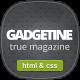 Gadgetine - Responsive News and Magazine HTML - ThemeForest Item for Sale