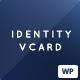 Identity - Personal vCard CV Portfolio WP Theme - ThemeForest Item for Sale