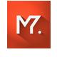 Grey Chromed Logo