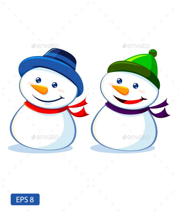 Two Snowmen