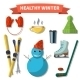 Healthy Winter - GraphicRiver Item for Sale