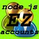 NodeJs Ez Accounts - CodeCanyon Item for Sale