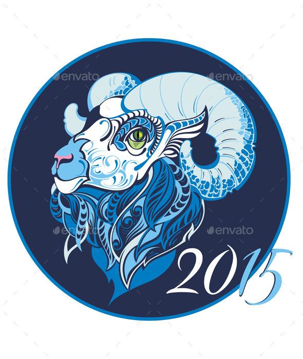 Symbol of 2015 Year
