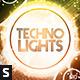 Techno Lights Flyer - GraphicRiver Item for Sale