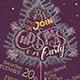 Christmas Eve Party Hand-Lettering - GraphicRiver Item for Sale