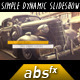 Simple Dynamic Slideshow - VideoHive Item for Sale