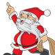 6 Santa Claus Expressions - GraphicRiver Item for Sale