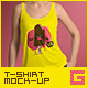 T-Shirt Mock-Up Female Model / Classic Edition - GraphicRiver Item for Sale