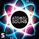 Atomic Sound Flyer - GraphicRiver Item for Sale
