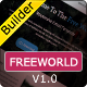 FREEWORLD - Responsive Email Template With Builder - ThemeForest Item for Sale