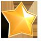 Sparkling Golden Star - GraphicRiver Item for Sale