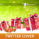 Christmas Gifts Twitter Profile Cover - GraphicRiver Item for Sale