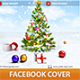 Merry Christmas Facebook Timeline Cover - GraphicRiver Item for Sale