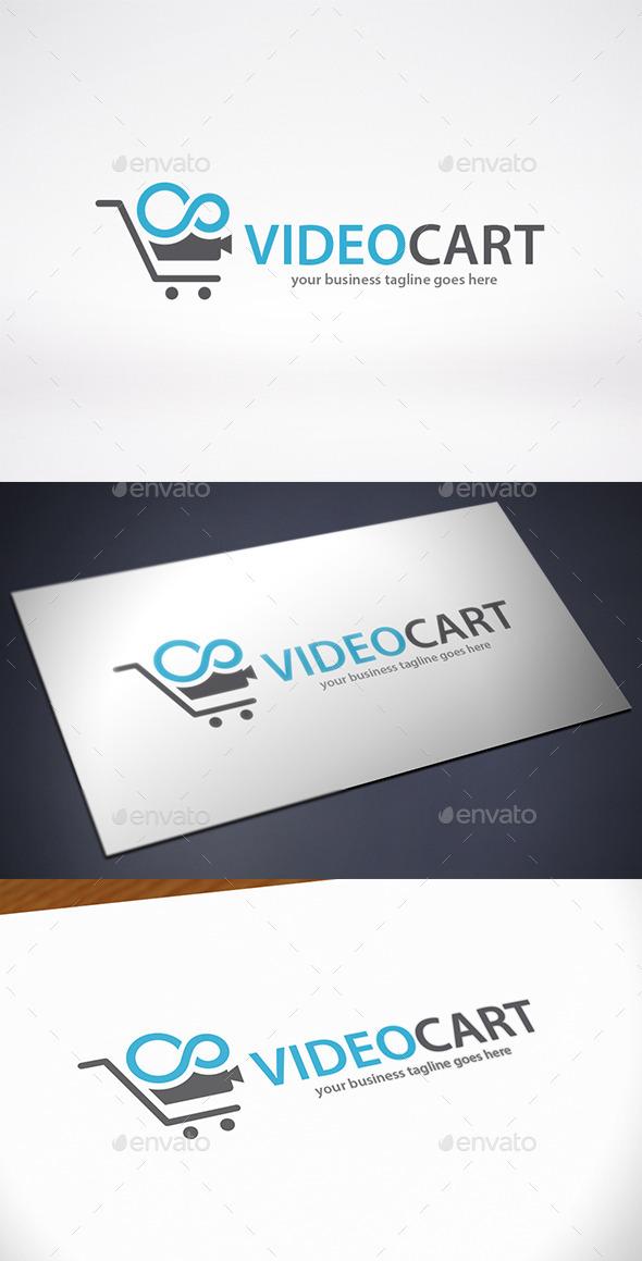 Video Cart Logo Template