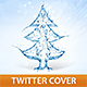 Christmas Water Tree Cover - GraphicRiver Item for Sale
