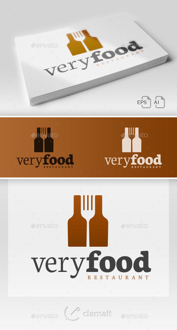 Very Food - Restaurant Logo