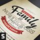 Vintage Church Invite Flyer - GraphicRiver Item for Sale