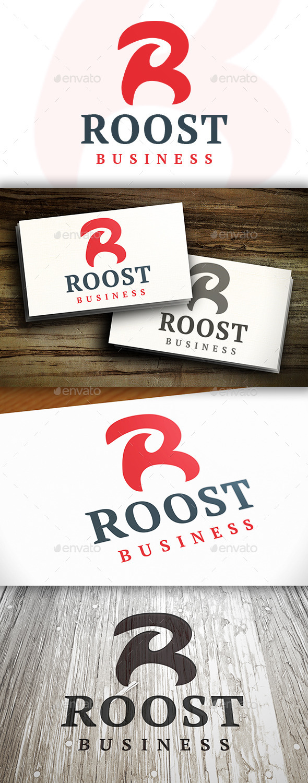 Roost R Letter Logo