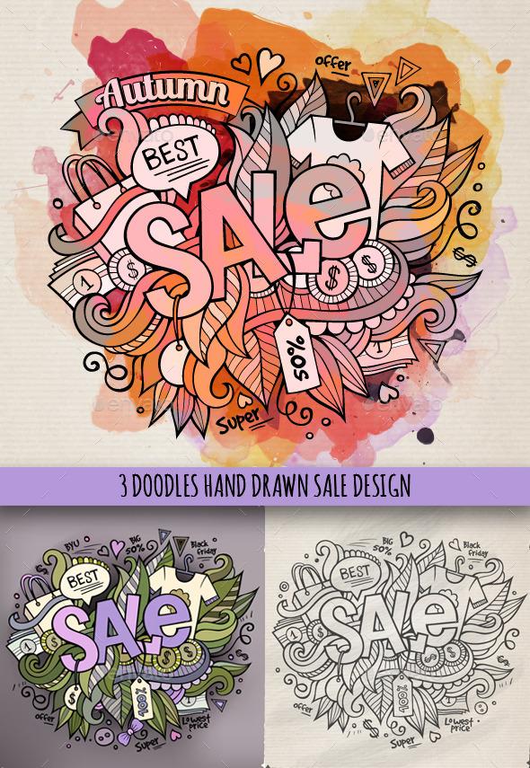 Sale Doodles Designs