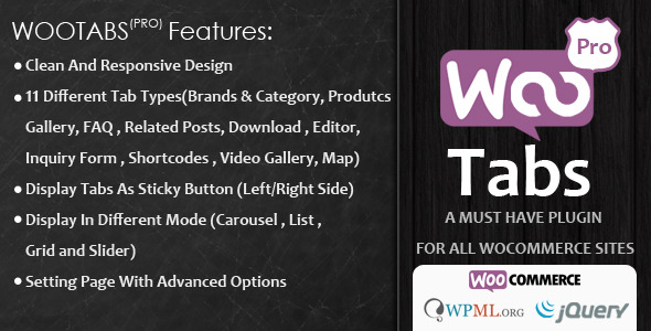 Codecanyon | Woocommerce Tabs Pro: Extra Tabs for Product Page Free Download free download Codecanyon | Woocommerce Tabs Pro: Extra Tabs for Product Page Free Download nulled Codecanyon | Woocommerce Tabs Pro: Extra Tabs for Product Page Free Download