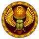 Symbol of the God the Sacred Solar Bug - GraphicRiver Item for Sale