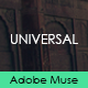 Universal - Creative Muse Template - ThemeForest Item for Sale