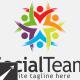 Social Team Logo Template - GraphicRiver Item for Sale
