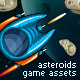 Game Assets for Asteroids Crusher - GraphicRiver Item for Sale