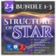 24 Structure of Stars Bundle (Vol.1-3) - GraphicRiver Item for Sale