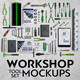 Workshop Tool Set Mock-Ups - GraphicRiver Item for Sale