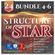 24 Structure of Stars Bundle (Vol.4-6) - GraphicRiver Item for Sale
