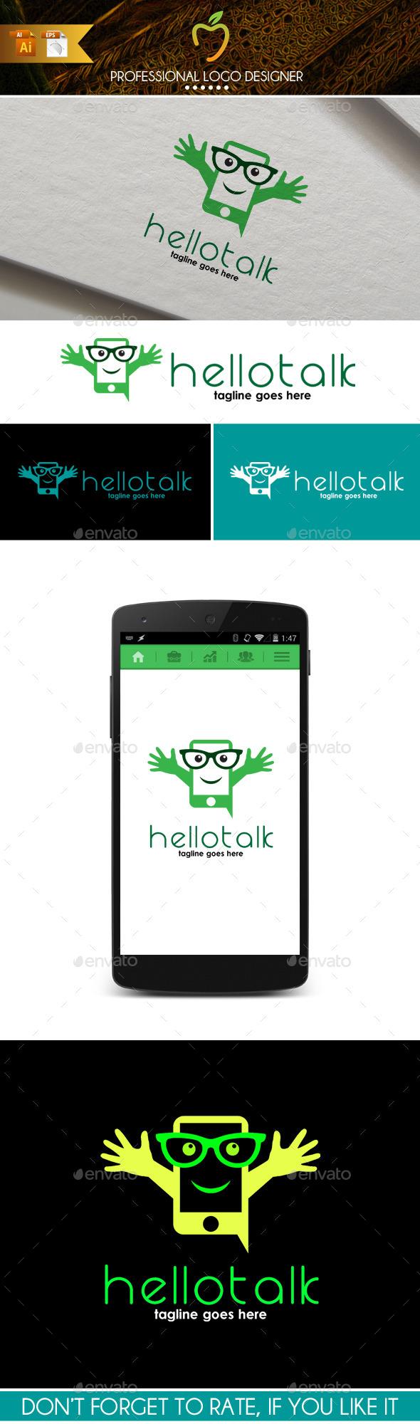 Hello Talk Logo