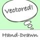 Comic Hand Drawn Speech Bubbles (vector) - GraphicRiver Item for Sale