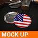 Badge Mock-Up V01 - GraphicRiver Item for Sale