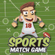 Sports Match 3 Game Assets - GraphicRiver Item for Sale