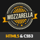 Mozzarella - HTML5 and CSS3 Cafe Bar Template - ThemeForest Item for Sale