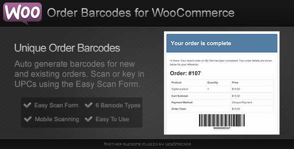 Codecanyon | Order Barcodes for WooCommerce Free Download #1 free download Codecanyon | Order Barcodes for WooCommerce Free Download #1 nulled Codecanyon | Order Barcodes for WooCommerce Free Download #1