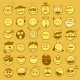 Set of Emoticons - GraphicRiver Item for Sale