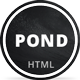 Pond - Creative Portfolio / Agency Template - ThemeForest Item for Sale