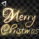 Christmas And New Year Elegant Handwriting Text - VideoHive Item for Sale
