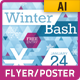 Winter Bash Party Poster or Flyer - GraphicRiver Item for Sale