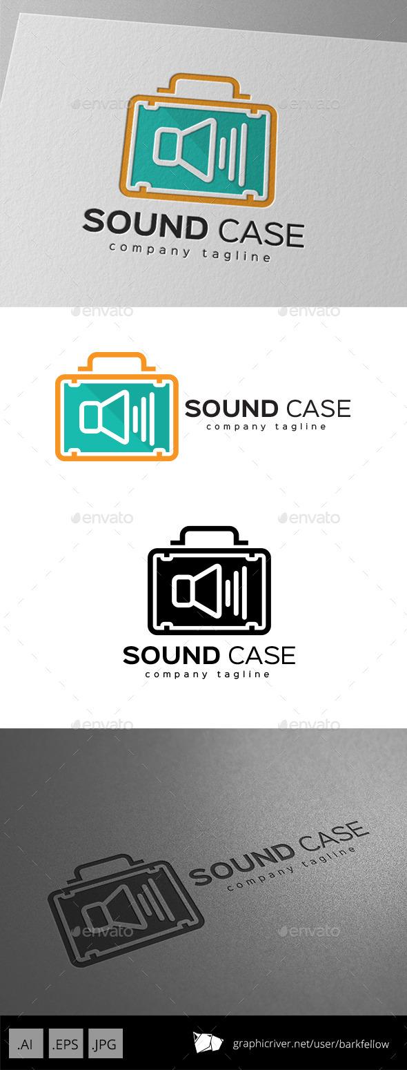 Sound System Case Bag Logo