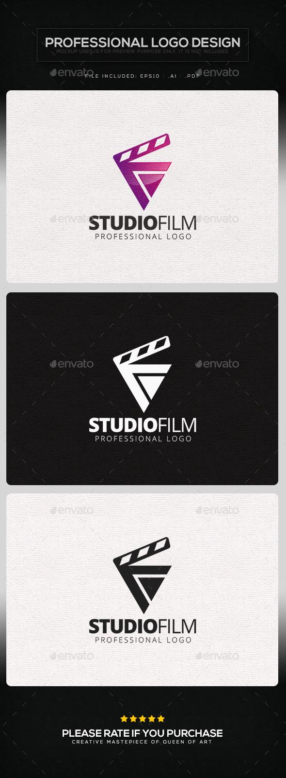 Studio Film Logo Template