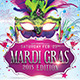 Mardi Gras 2015 The Poster Template - GraphicRiver Item for Sale