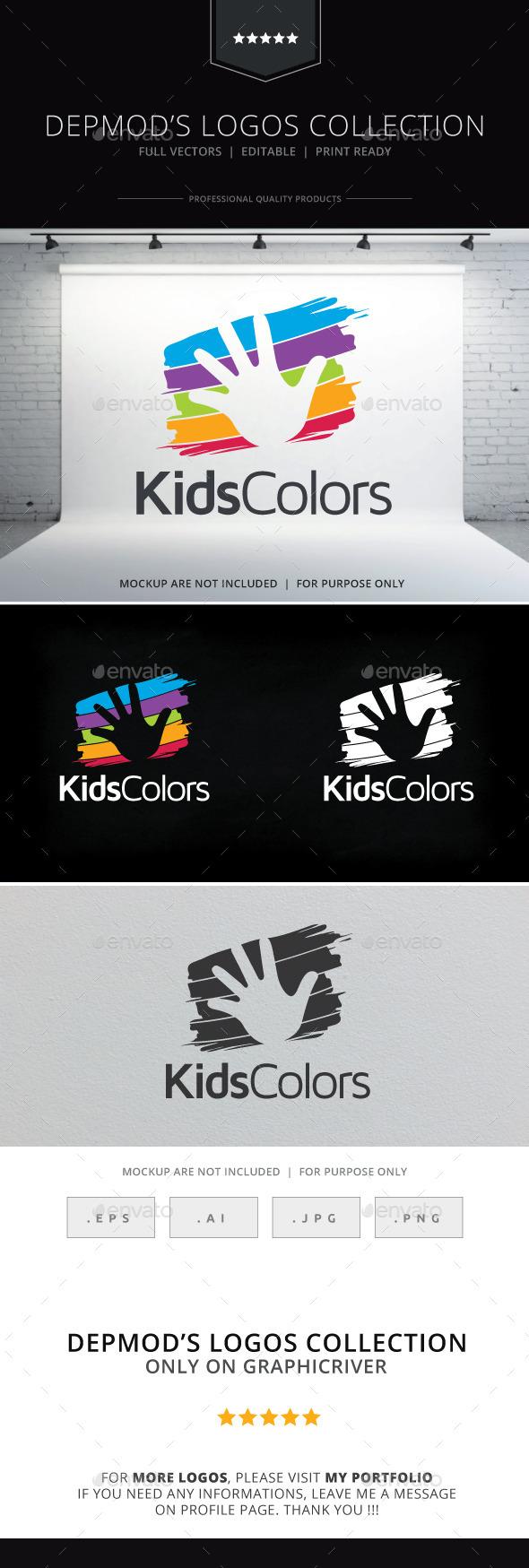 Kids Colors Logo
