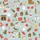 Seamless Pattern with Christmas Holidays - GraphicRiver Item for Sale