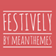 Festively: An Unashamedly Festive Blog Theme - ThemeForest Item for Sale